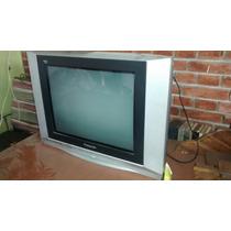 Televisor Panasonic Plano De 21 Con Control