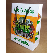 Bolsitas Golosineras Sofia,plantas Vs Zombies,cars Y Mas X10