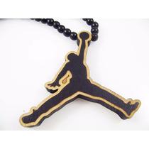 Collar Michael Jordan Chicago Bulls Collar Madera Hip Hop