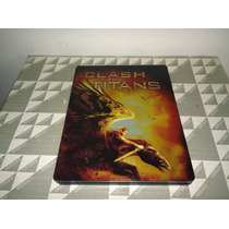 Furia De Titanes Steelbook Bluray + Dvd
