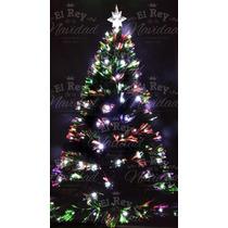 Arbol Navideño 1,50 Mts Luces Led Multidestellos Navidad Rgb