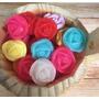 100 Rosinhas Sabonete Botão De Rosa Lembrancinha
