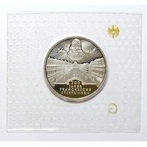Rara Moeda Prata Da Alemanha Comemorativa 10 Marcos 1998