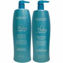 Kit Lanza Healing Moisture Shampoo Conditioner Profissional