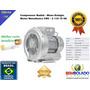 Soprador Aerador Compressor Radial Máquina Piscicultura