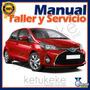 Manual De Taller Y Reparacion Toyota Yaris 2000-2005 Ingles