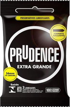 f9276c9d6 Preservativo Prudence Extra Grande - Com 3 Camisinhas - R  8