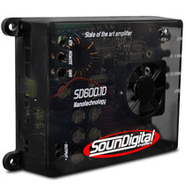 Modulo Potencia Soundigital Sd600.1d Sd600 Sd600.1 600w Rms