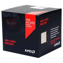 Proc. Amd A10-7870k 4-core 3,9ghz Fm2+ Cooler Near-silente