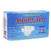 Fralda Geriátrica Adultcare Econômica - G - Com 96 Unid.