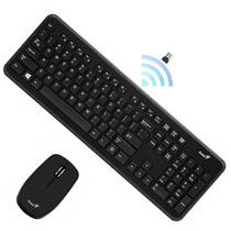 Combo Teclado + Mouse Genius Multimedia Slimstar I8050 Usb