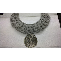 Collar De Trapillo Tejido Crochet