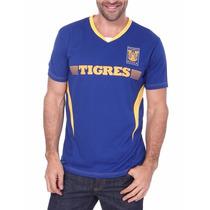 Tigres Playera Polo Jersey Futbol Clubes Azul Uanl Soccer