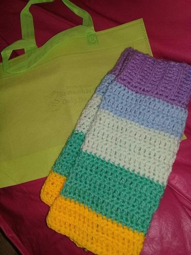 Polainas Crochet Arco Iris Mucha Lana Hermosas -   279 1d74bdeecfc
