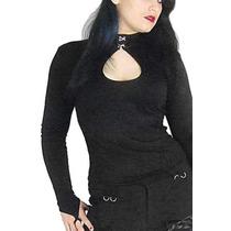 Blusa Goth Rock Gothic Gotico