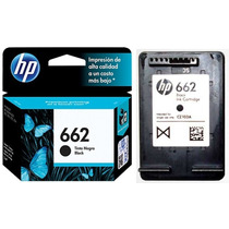 Cartucho Hp 662 Original Negro 2515 4645 1015 1515 Factura