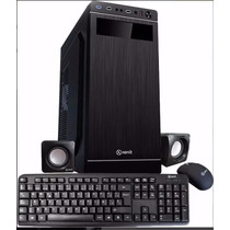 Gabinete Gamer Kit Pc Teclado Mouse Parlante Fuente 600w Usb
