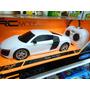 Audi R8 V10 Replica Auto R/c Welly Escala 1:24 Coleccion