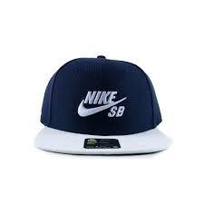 Gorra Nike Sb Icon Snapback Azul Marino Blanco Original -   432.00 ... 02a8ab852d0