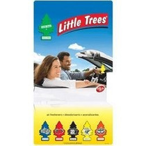 6x Little Trees Aromatizantes Para Carro -100% Original