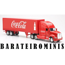 1:32 Caminhão Kenworth T700 - Coca-cola - New Ray
