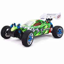 Auto A Control Remoto Hsp94107 Top Brushless 4x4 80km Verde