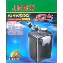 Filtro Canister Jebo 835 110v Com As Mídias Filtrantes