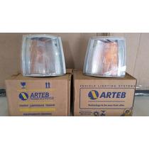Lanterna Seta Pisca Fiat Uno Fiorino Elb Arteb Logo Fiat Par