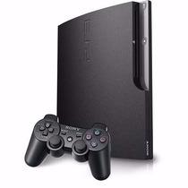 Playstation 3 Hd 160gb Ps3 Slim C/1 Controle