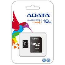 Oferta 10 Memoria Micro Sd 16gb Adata Celular Tablet Camara