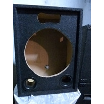 Cajas Para Audio Pro 15 Alfombradas Vacias