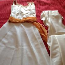 Vestido De Novia Corsét, Pollera Y Cola.