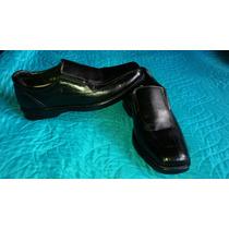 Zapatos Hombre Cuero Lombardino Flex Son 41 Impecable Estado