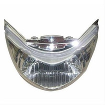 Bloco Do Farol C125 Biz 2006/10 Com Lente Cristal Plasmot...