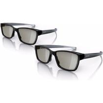 2 Óculos 3d Passivo Philips - Tvs Lg Sony Samsung