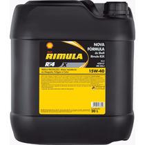 Óleo Shell 15w40 Rimula Rt4x Ci-4 Mineral 20 Litros