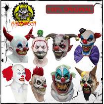 Mascaras De Payasos Para Halloween Importadas De E.u.