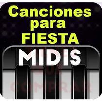 Midis Cumbia Nortena Salsa Y Boleros 12,000 Secuencias X $70