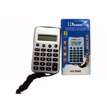 Calculadora Kenko 8 Digitos Com Cordao Kk-8990