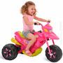 Moto Elétrica Xt3 Fashion Infantil Menina Rosa Bandeirante