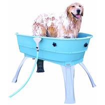 Bañera Para Perro Mascota Veterinaria Bosster Azul