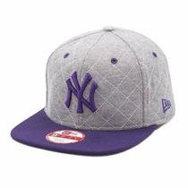 Boné New Era Juvenil Ny Yankees Snapback Aba Reta 48-54cm