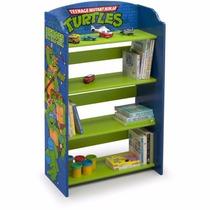 Organizador Revistero Librero Infantil Tortugas Ninja