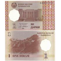 Billete Tajikistam 1 Diram 1999(2000) P-10
