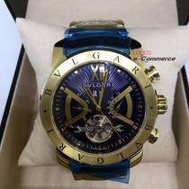 Relógio Bulgari Iron Man Automático Produto Original U