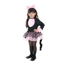 Miss Kitty Cat Girls De Halloween Costume Tamaño Pequeño (6