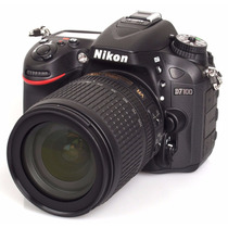 Camara Reflex Nikon D7100 Kit 18-140 Full Hd 1080p Lcd 3.2