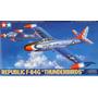 Avión Republic F-84g Thunderbirds Escala 1/48 Tamiya 61077