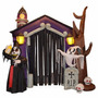 Inflable Casa Halloween Fantasma Calavera Decoracion Fiesta<br><strong class='ch-price reputation-tooltip-price'>$ 529.000</strong>