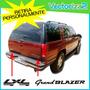 Kit Calcomanias Chevrolet Grand Blazer 4 Puertas Compuerta